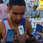 Luguelin Santos 400m Oro Panamericano Toronto 2015